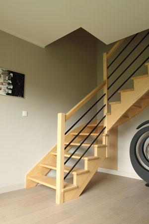 Escalier 1/4 tournant