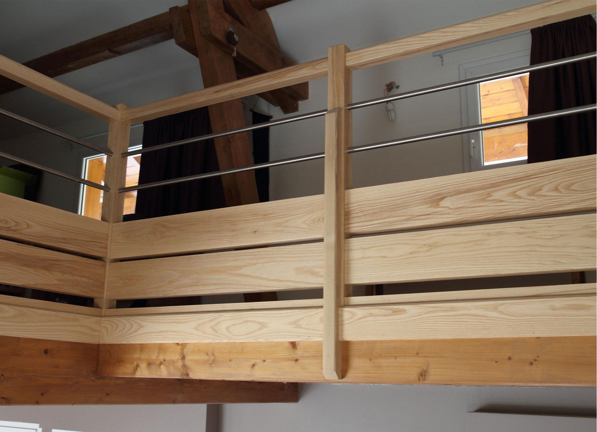 balustrade horizontale mb escaliers. Black Bedroom Furniture Sets. Home Design Ideas