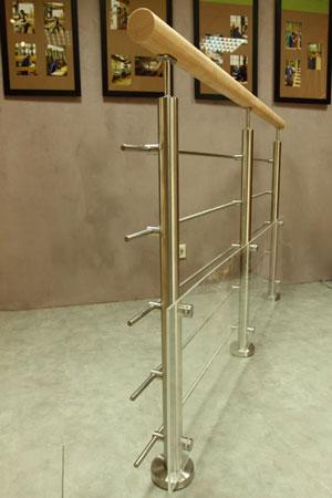 Balustrade horizontale